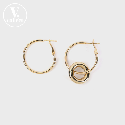 [V,Collect] Doughnut Ring Earring